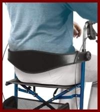 Rollator Zubehör Rückengurt