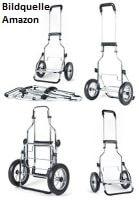 Trolleyrahmen-Aufbau
